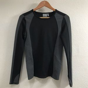 Athleta Scuba Long Sleeve Top